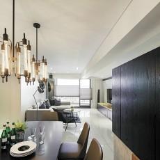 现代风格餐厅吊灯装修效果图片大全