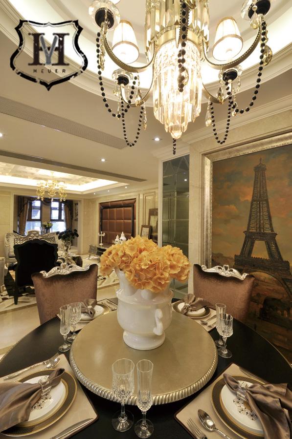 欧式风格餐厅设计图片大全