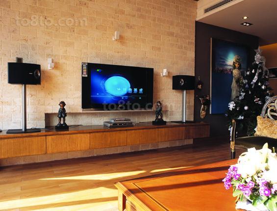 美式风格电视背景墙装修效果图欣赏大全