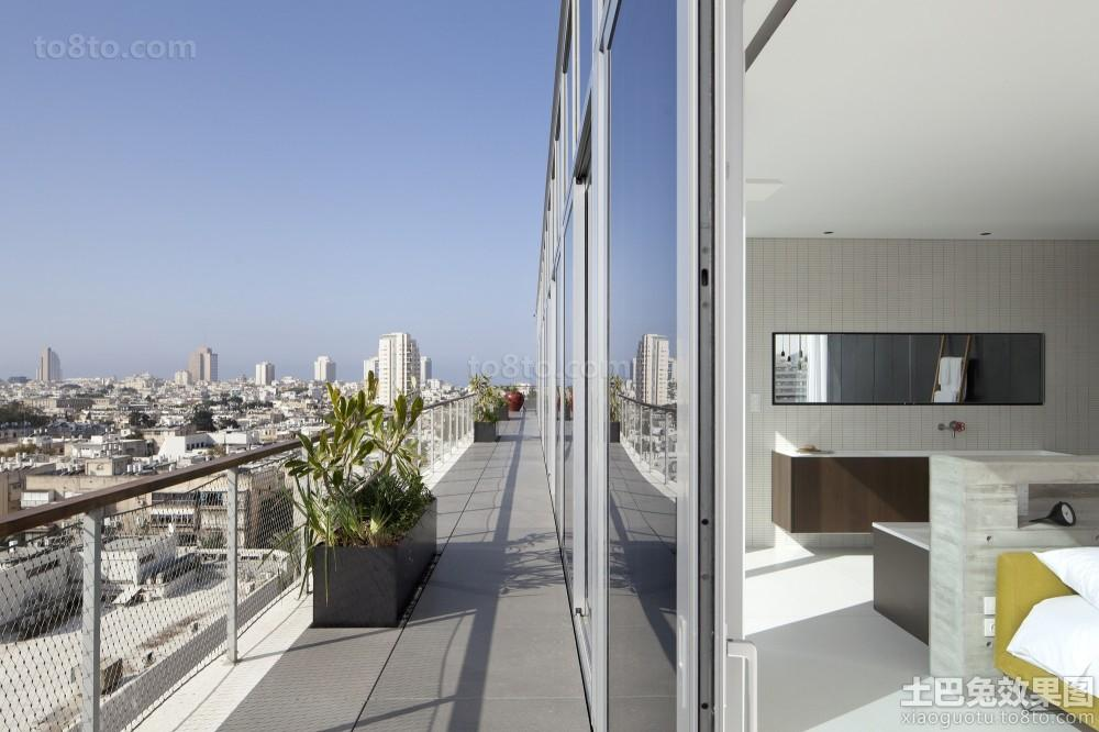 简单风格阳台隔断门设计效果图欣赏大全