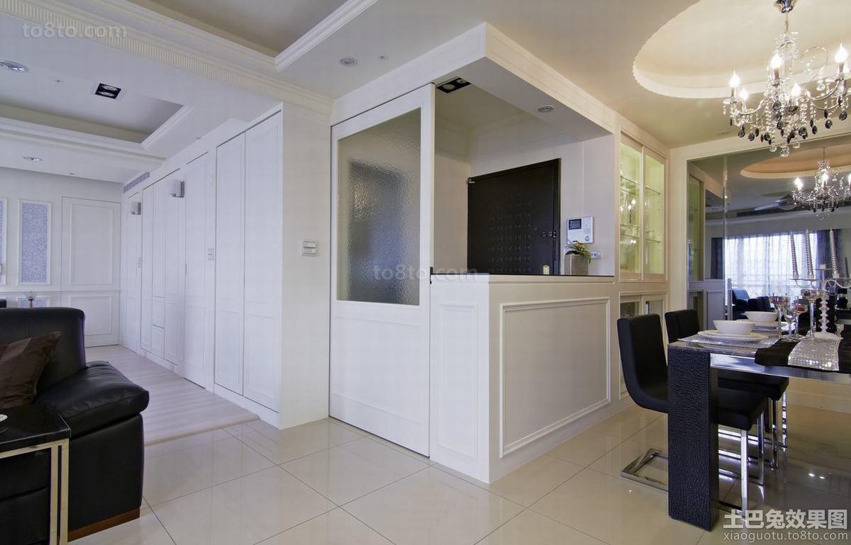 现代风格家装玄关装修设计