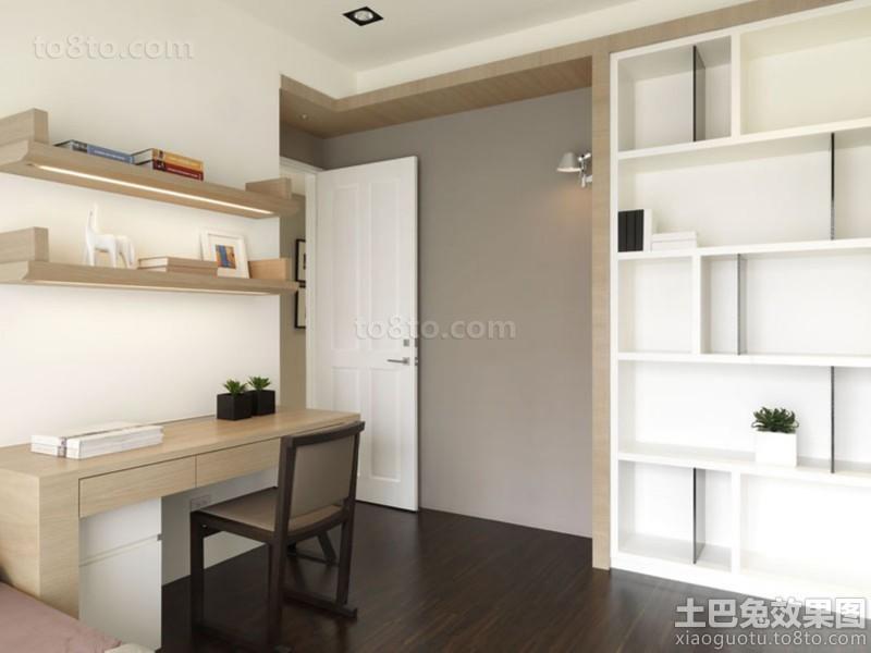 实木卧室书桌图片