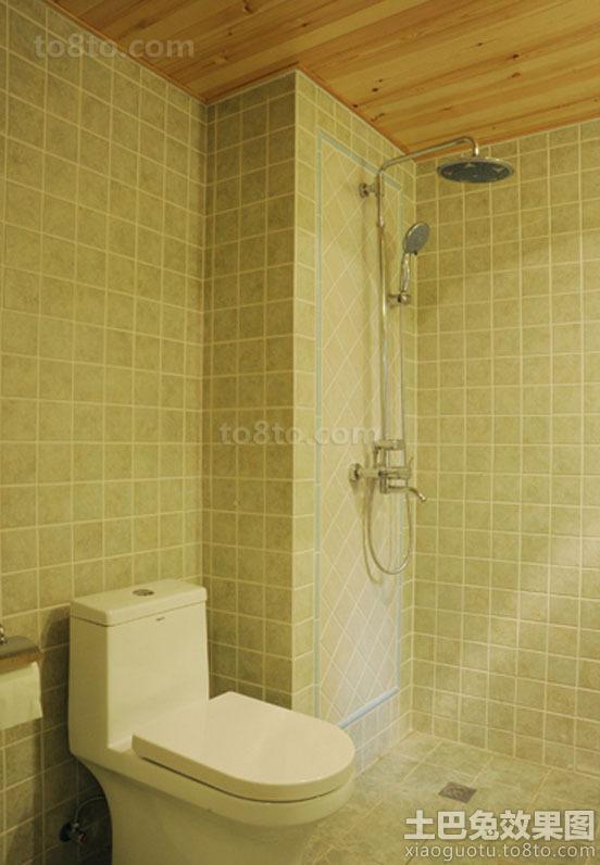田园风格瓷砖卫生间装修图片欣赏