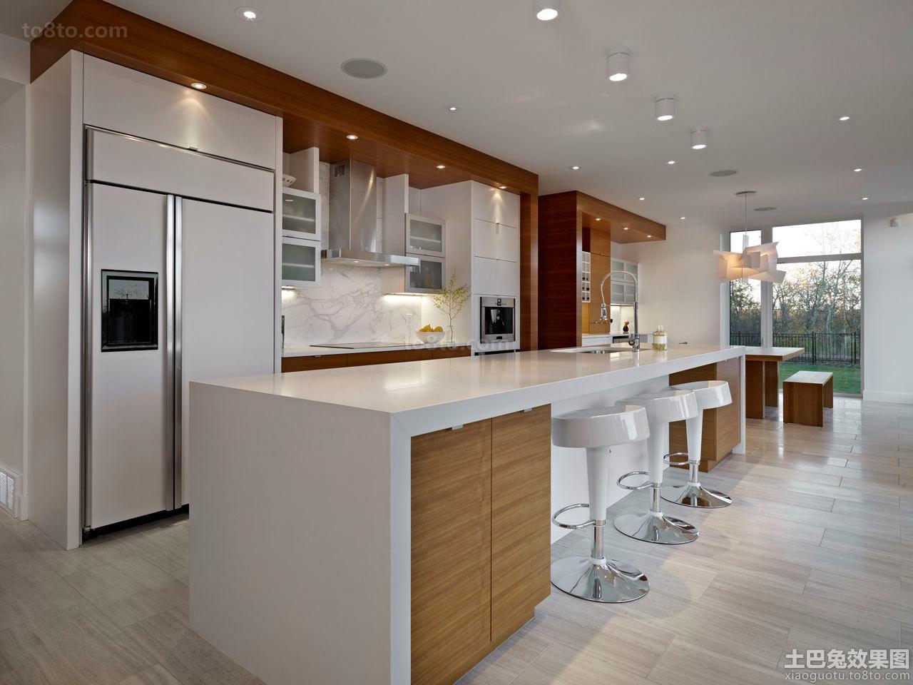 简约风格家庭厨房设计效果图