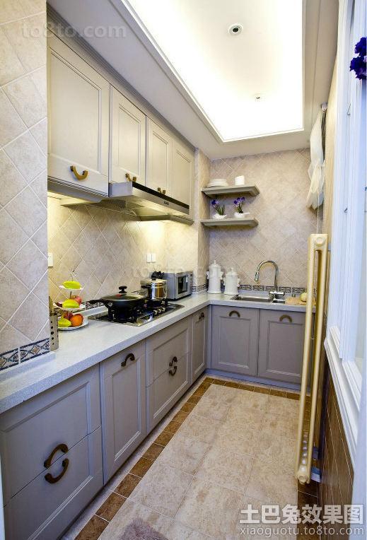 北欧装修厨房橱柜图片