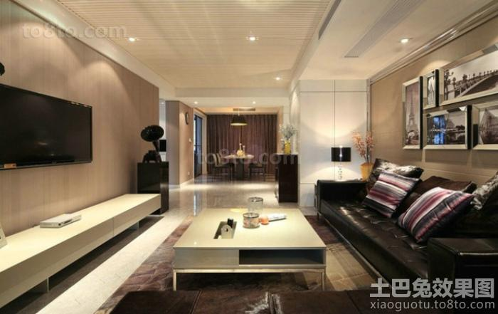 家装设计客厅电视背景墙效果图大全