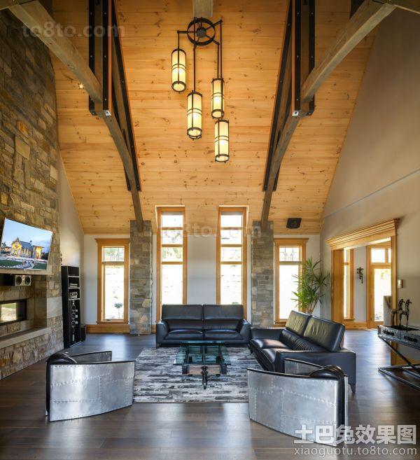 日式豪华建筑设计室内四居室装修效果图大全