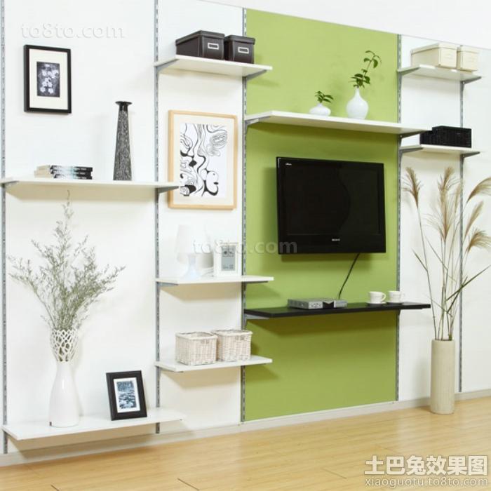 宜家设计装修室内电视背景墙图片