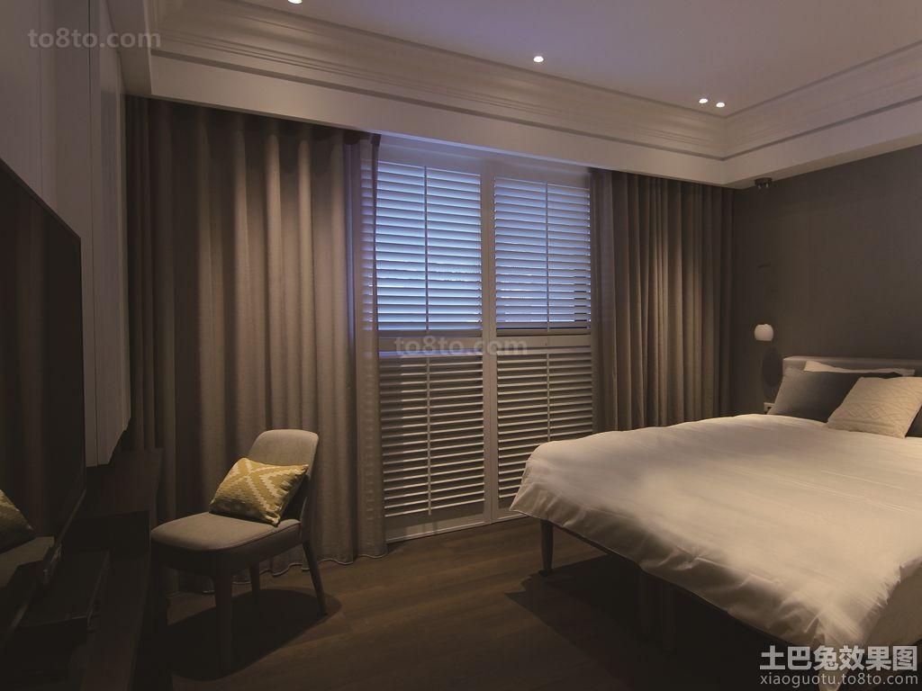 现代简约家装修设计卧室图片欣赏