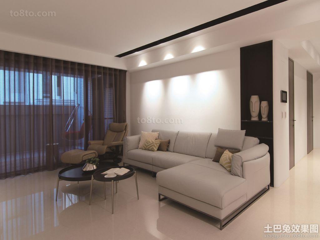 现代简约设计客厅装修图片