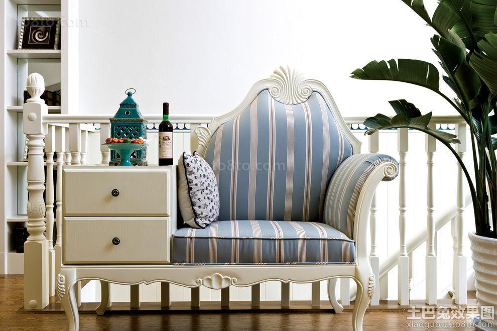 地中海风格客厅组合沙发图片