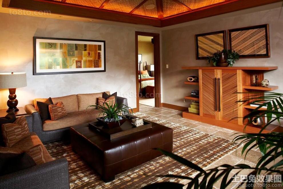 230平米东南亚风格别墅室内装修设计