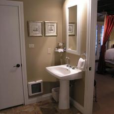 2014卫生间洗手盆装潢效果图