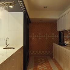 美式风格整体厨房效果图片欣赏