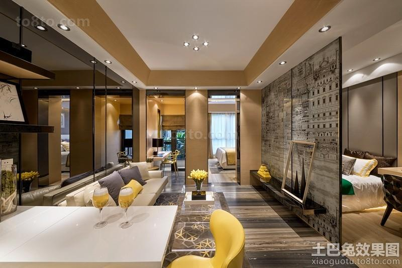 北欧风格四室两厅设计效果图大全欣赏