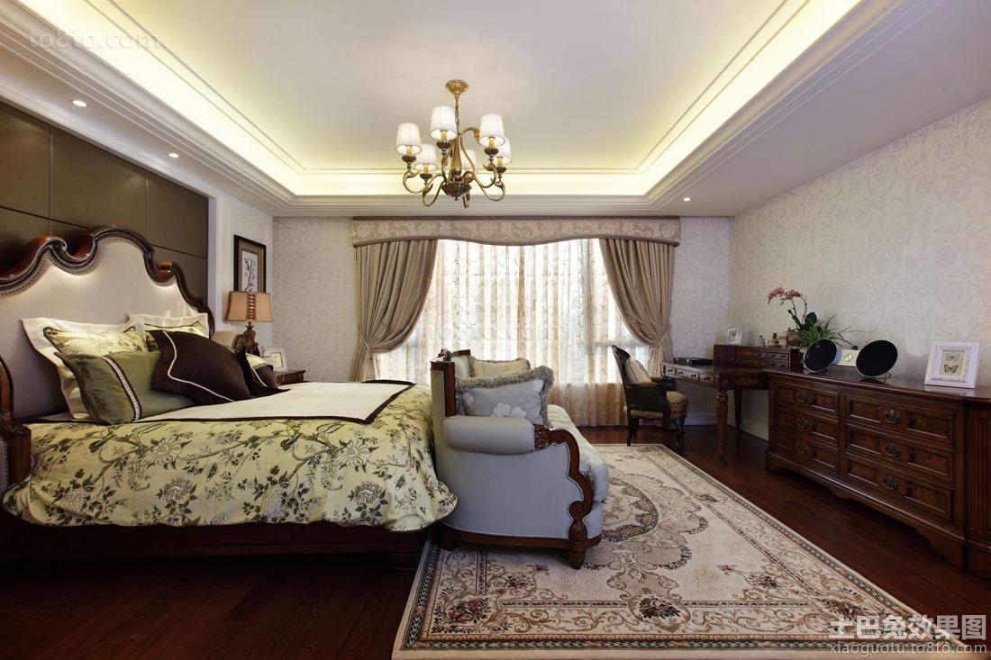 最新欧式田园卧室装修设计