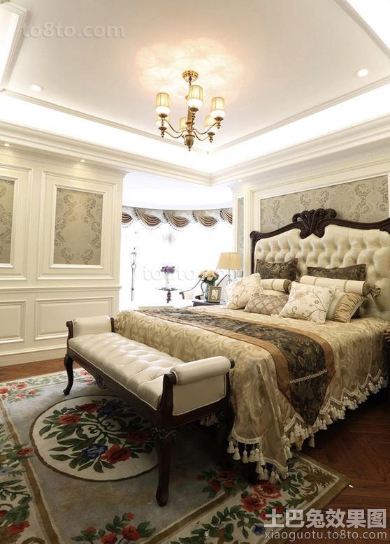 20平米欧式精装卧室效果图
