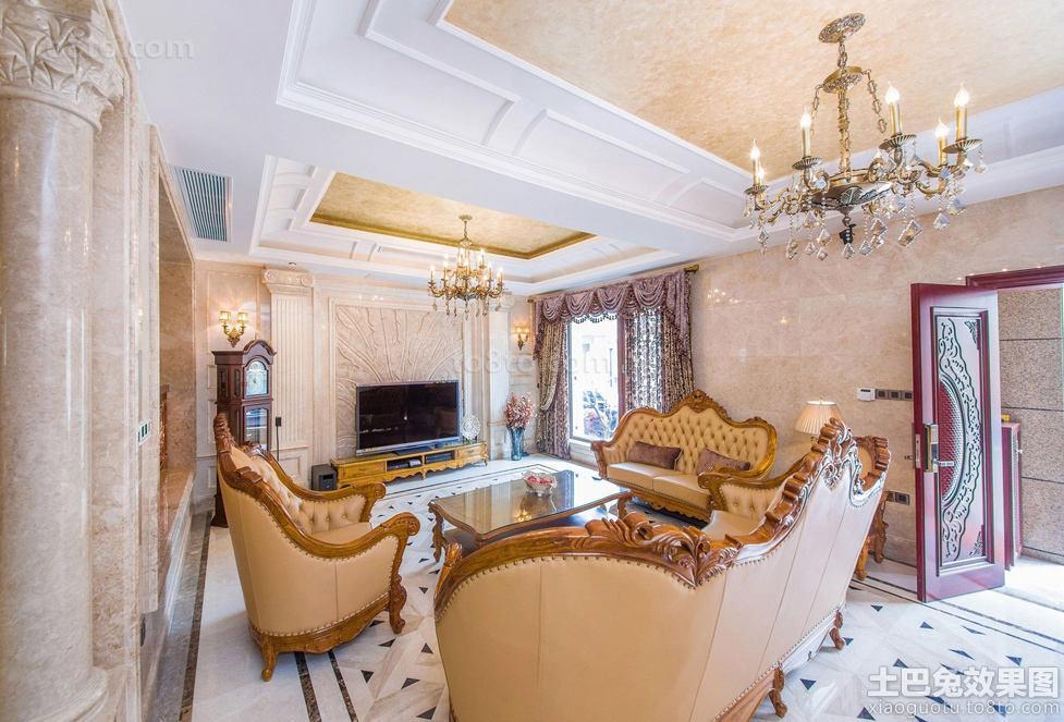 欧式家装客厅图片欣赏2016图片