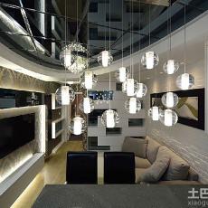 新古典小面积客厅装饰图片