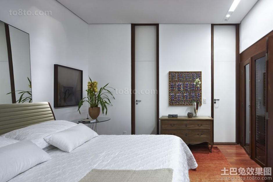 简约东南亚设计卧室效果图