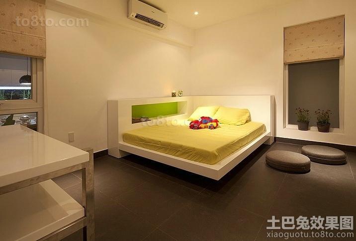 日式东南亚风格儿童房图片