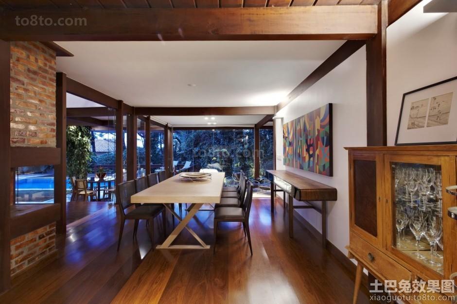东南亚家装设计餐厅效果图大全