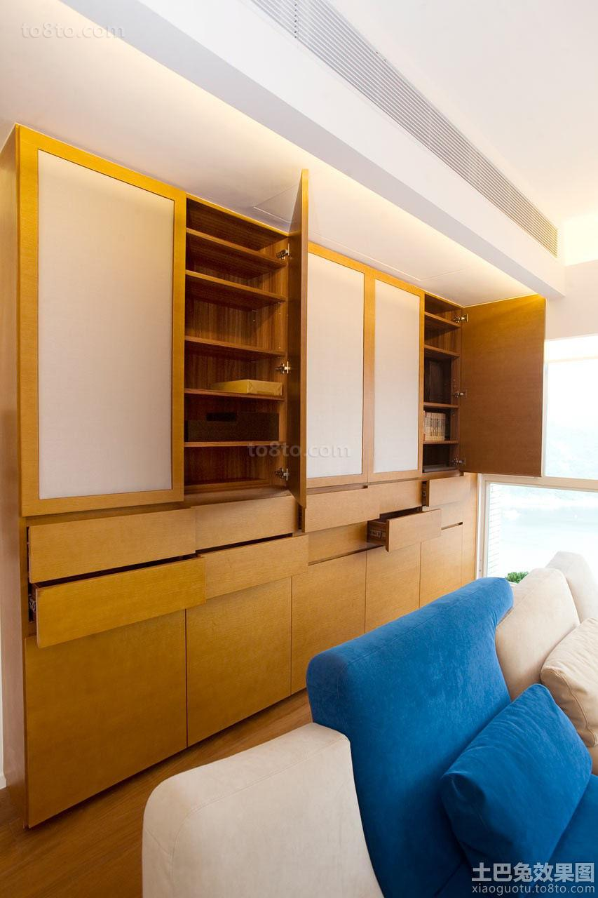 日式风格家居客厅柜子图片欣赏