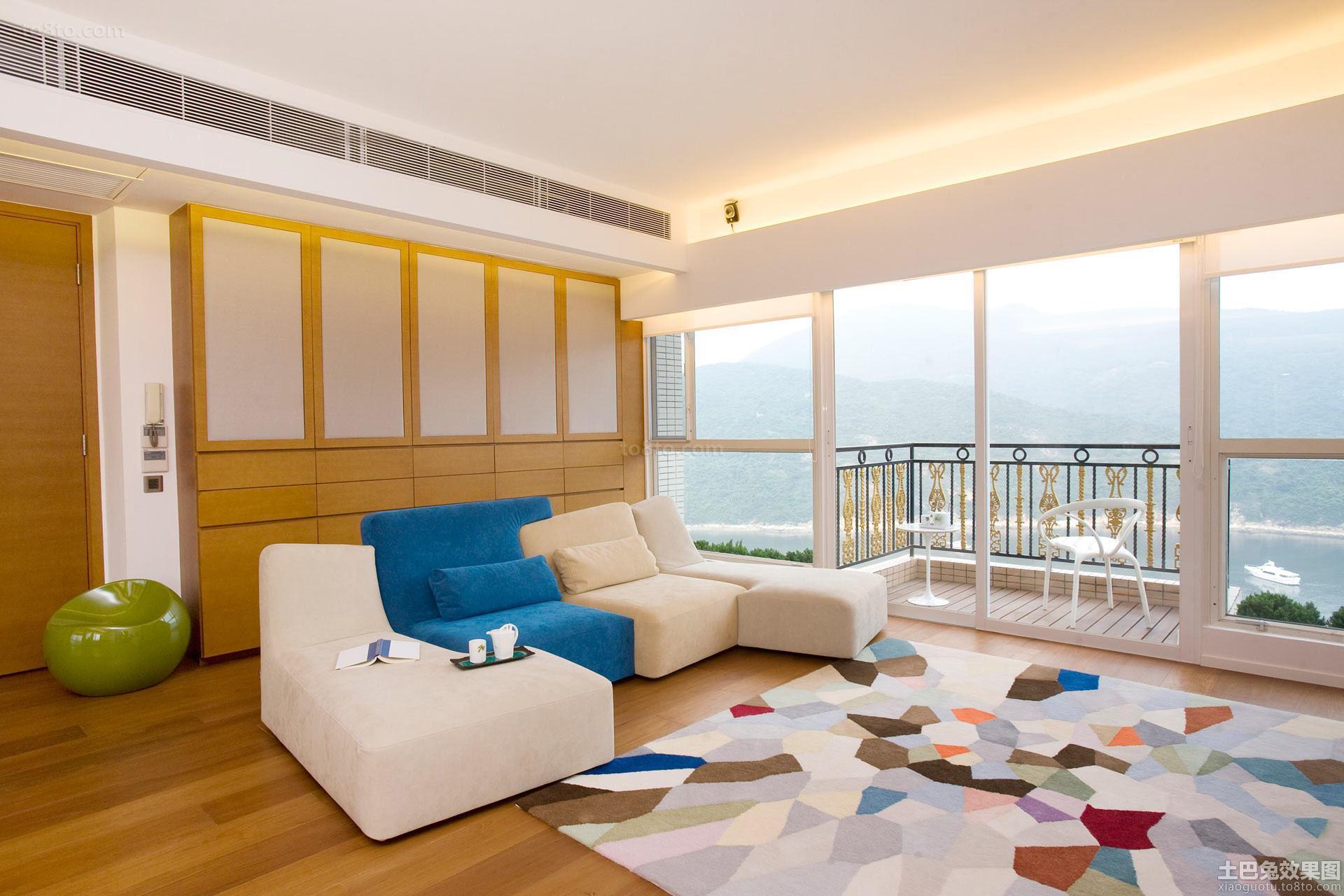 日式风格简装修客厅效果图