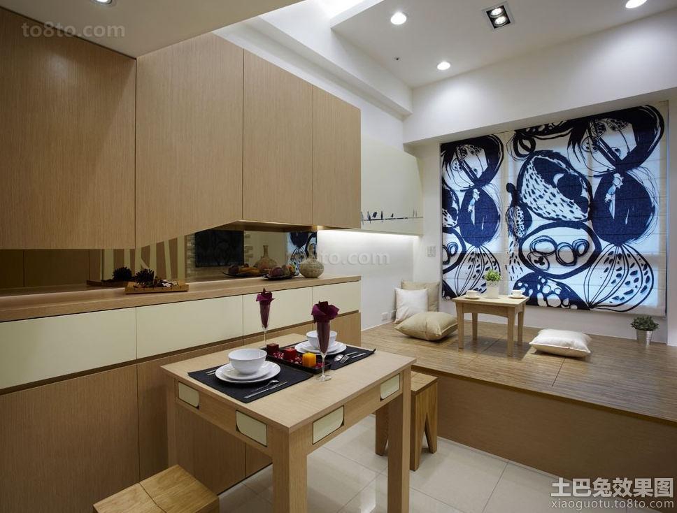 日式风格95平米loft户型公寓家庭装修图片