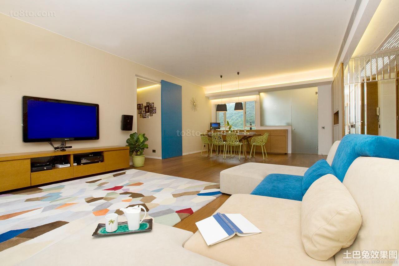 日式两室一厅家庭公寓室内装修
