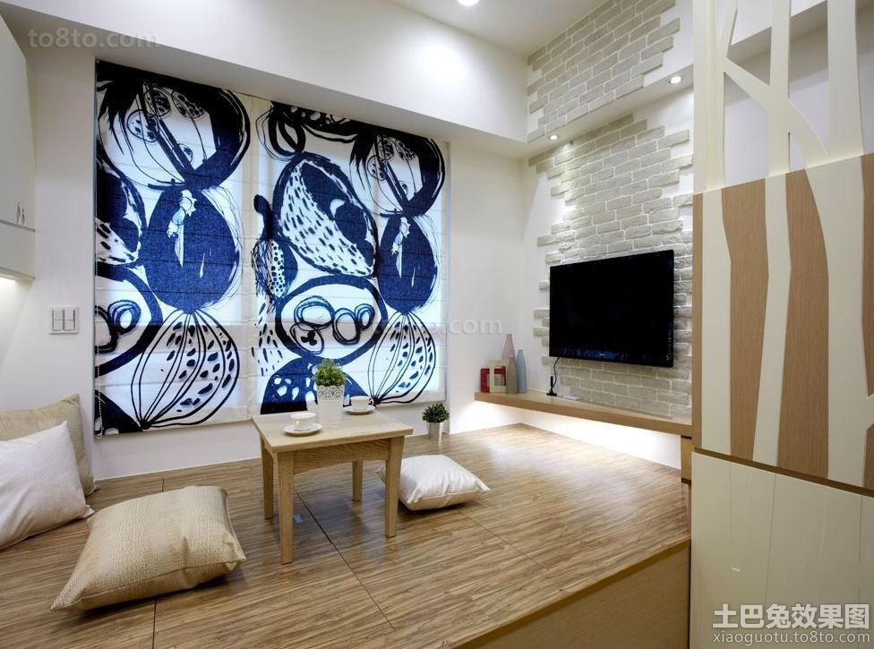 日式家居室内榻榻米台装修图片