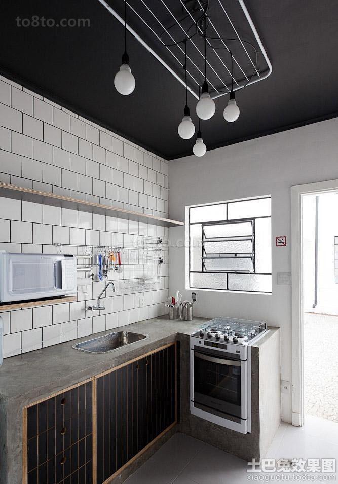 现代简约厨房设计图大全