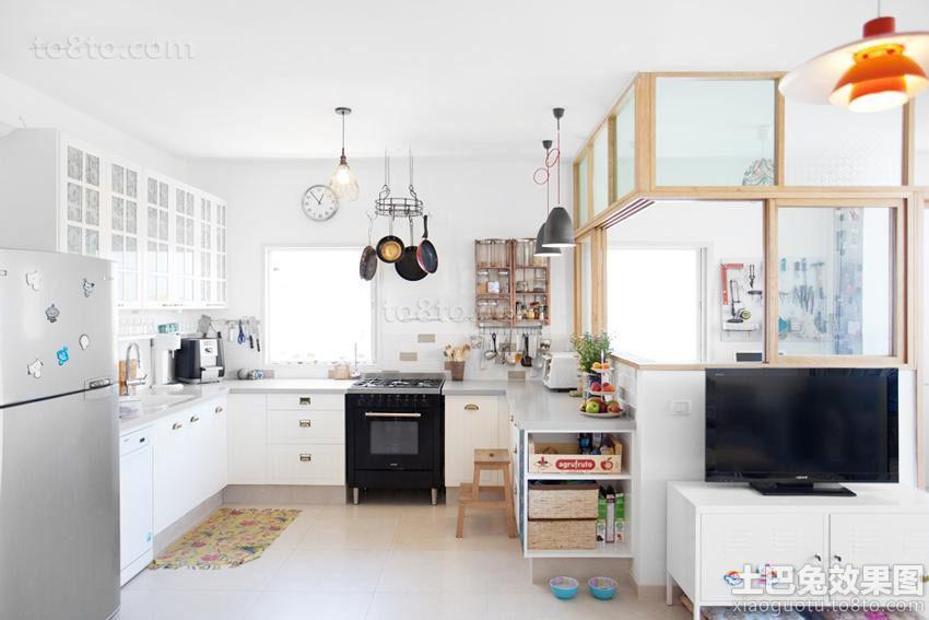 家装设计室内厨房图片欣赏2015