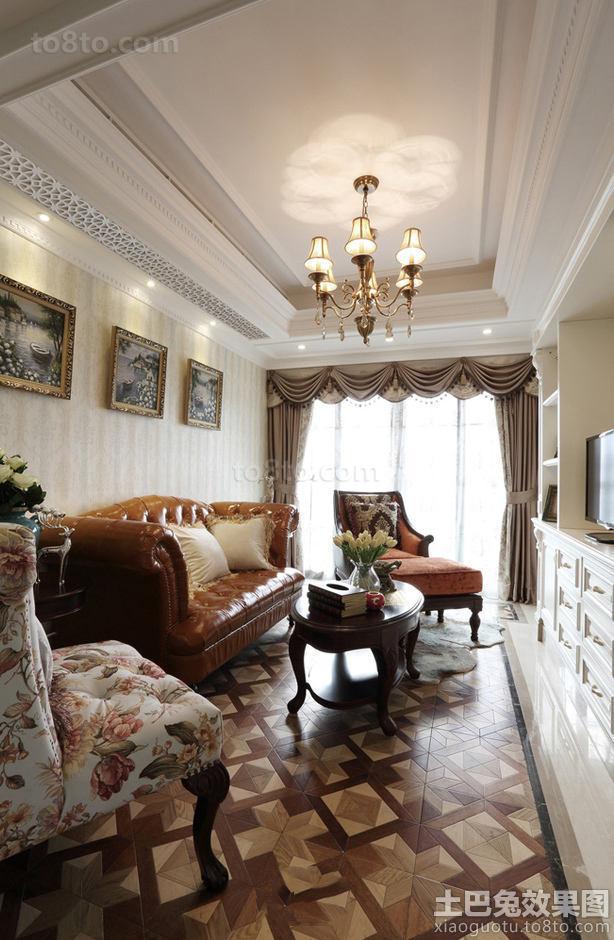 76平房欧式小二居室住房装修效果图大全
