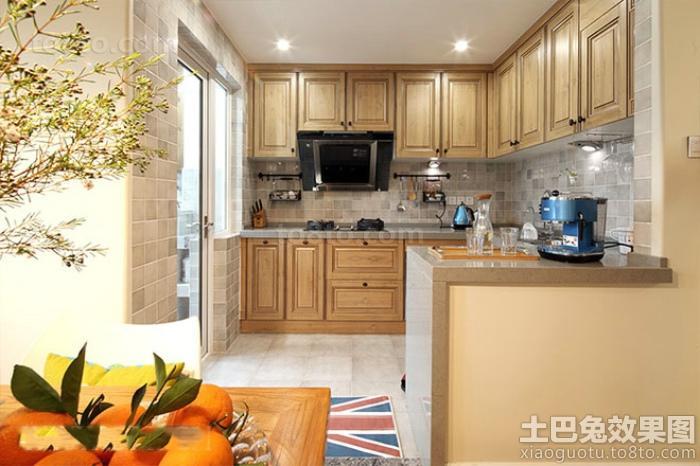 现代美式设计厨房图片大全