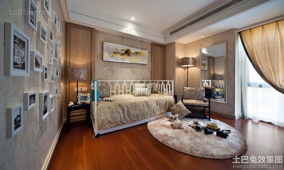 欧式家装两室两厅户型设计效果图大全