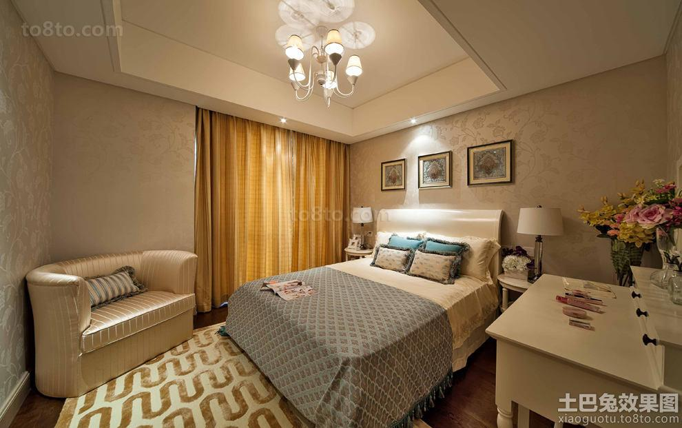 现代欧式装修卧室图片欣赏