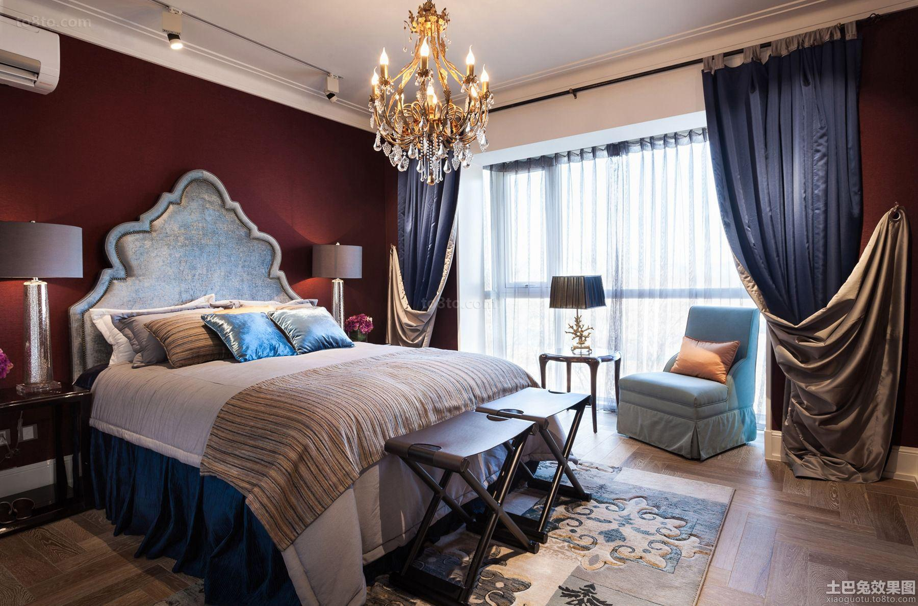 法式风格家装卧室布置图片大全