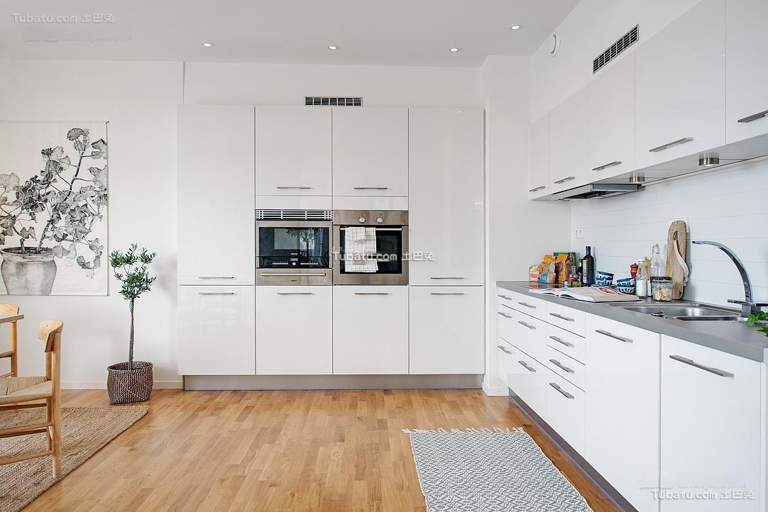 简约设计厨房效果图大全欣赏