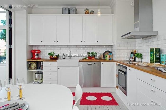 简约时尚设计装饰厨房图片
