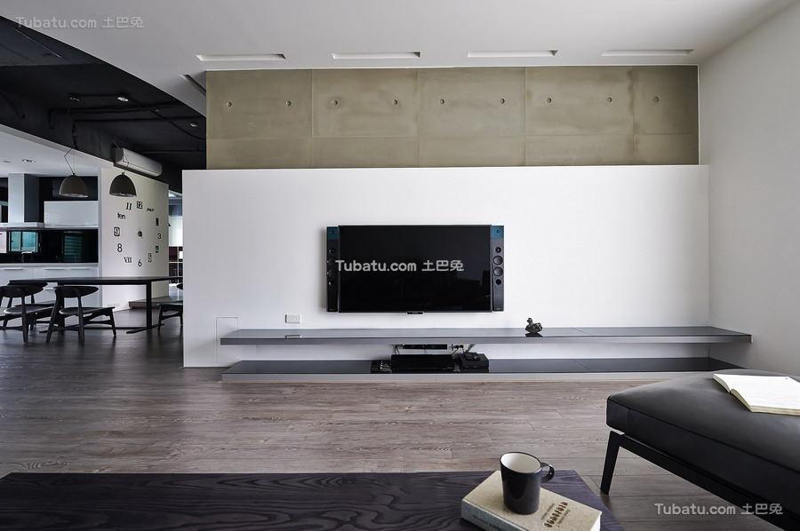 最新简约电视背景墙设计图片