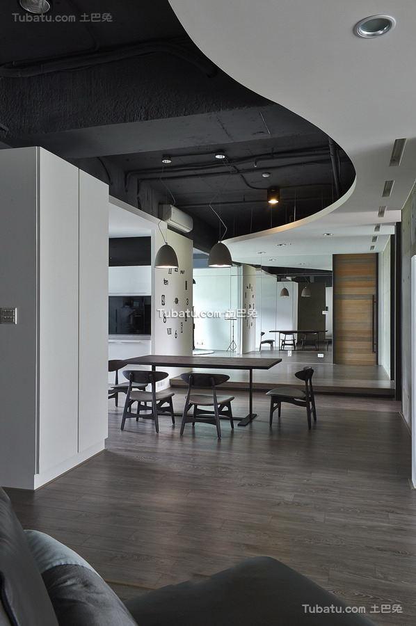 最新简约风格三居室家庭装修效果图大全