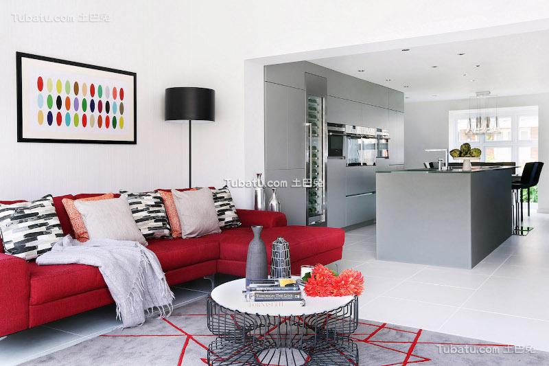 2018北欧风格两室两厅设计图片
