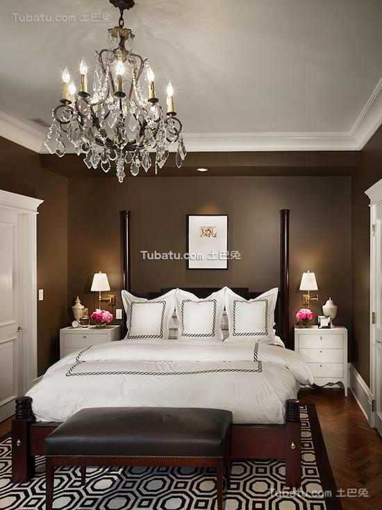 美式风格卧室装饰图片欣赏
