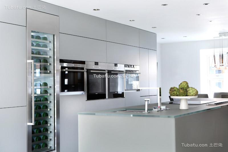 家庭风格装饰厨房图片