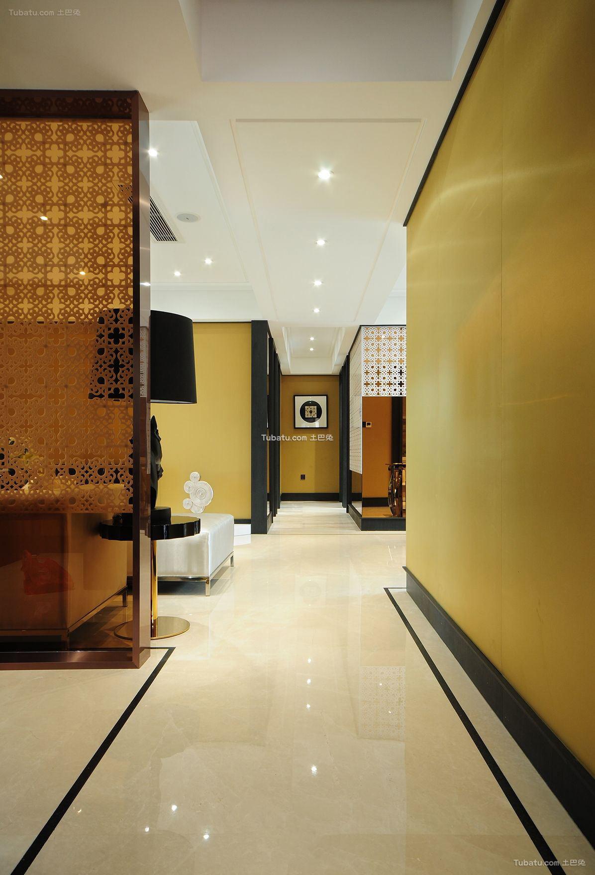 东南亚家居走廊过道布置图片欣赏