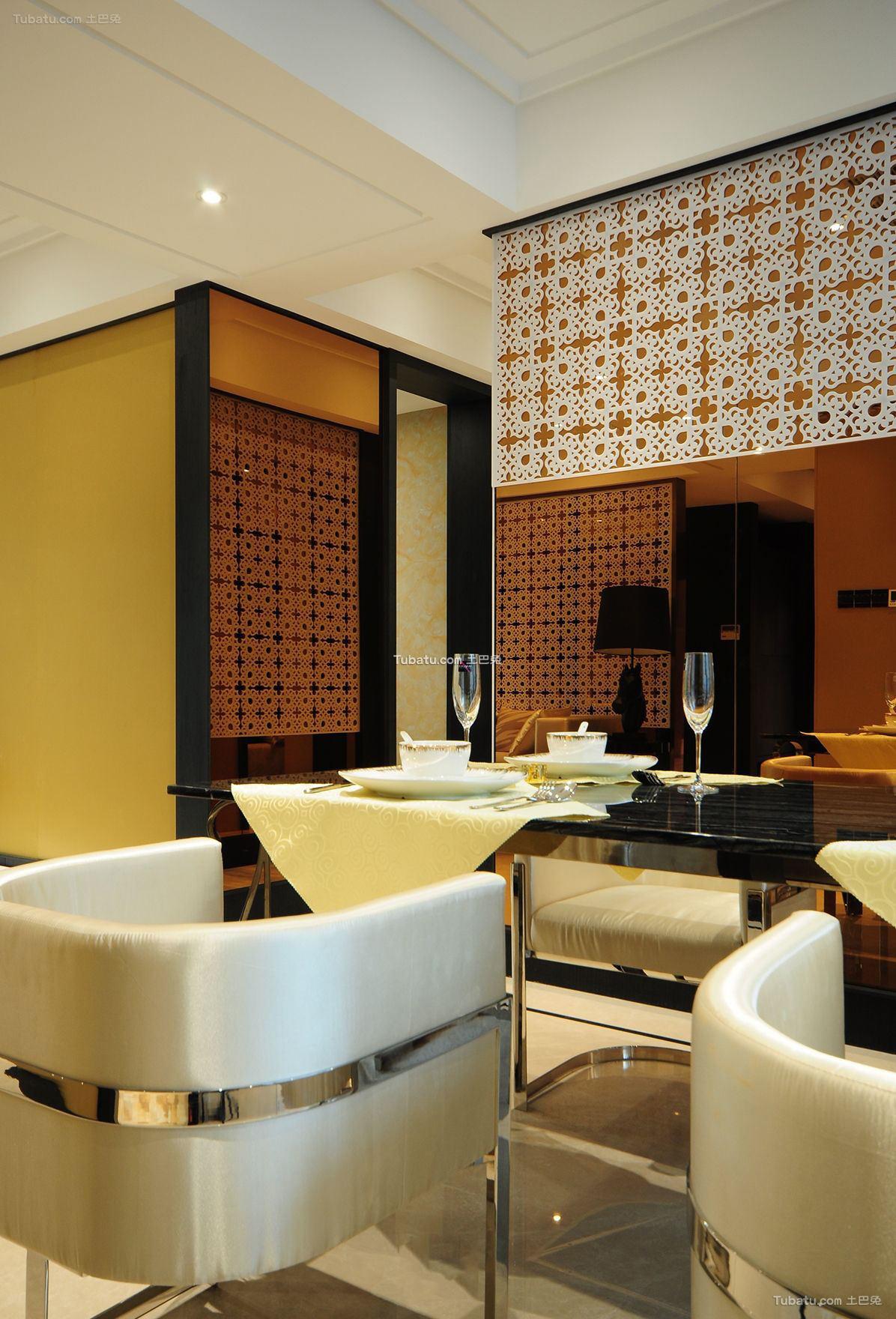 东南亚家居餐厅家具摆放图片欣赏
