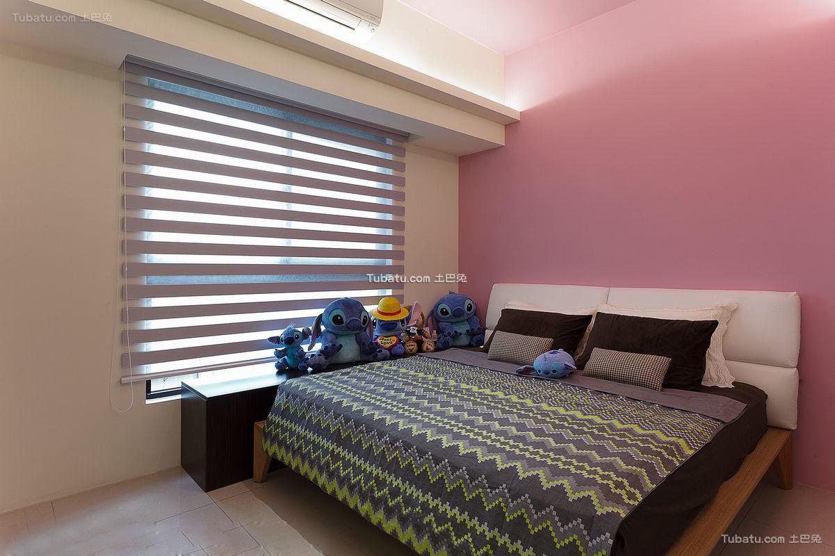 温馨简装家居卧室装修图片