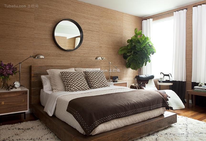 北欧装修设计时尚卧室效果图