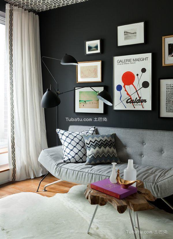 北欧装修一居室效果图欣赏